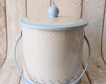 Vintage Floral Baret Ware Biscuit Tin - Retro Kitchen - Retro Tin