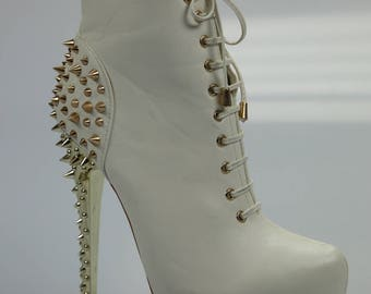 Jumex ankle boots / ankle boots lace boots size. 37