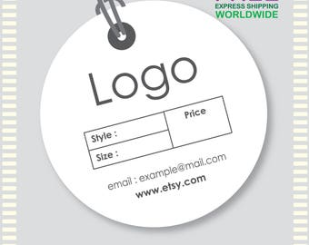 1000 Pcs Round Shape Hang Tags, Custom Hang Tags, Custom Clothing Labels, Custom Clothing Hang Tag, Cheap Hang Tags, Price Tag, Brand Tag