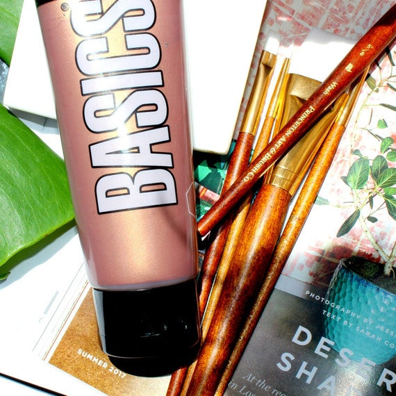 how to make rose gold acrylic paint