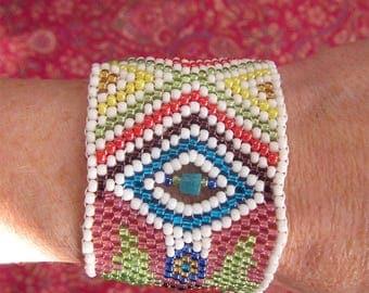 Cuff ethnic NALGANDA / colours