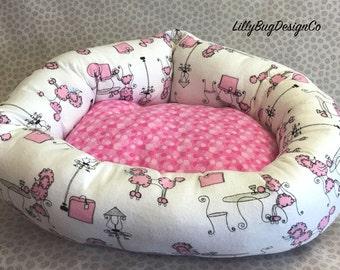 Pink Poodle Bed
