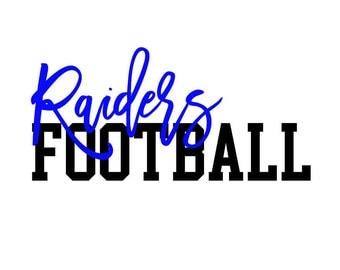 Raiders Football SVG/PNG