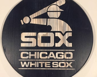 Chicago White Sox  Wood Wall Decor