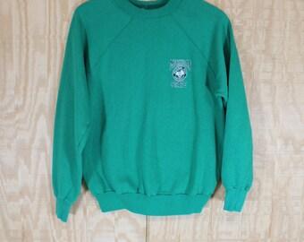 Vintage 1970's Michigan State University MSU 50/50 Pannill Knitting Co Sweats Sweatshirt Medium Large