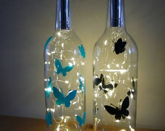 Butterfly Bottle Light