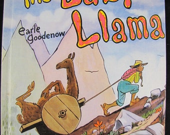 The Lazy Llama // 1954 Hardback // Collectible and scarce children's book // Good condition