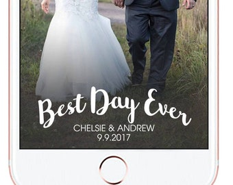 Wedding Snapchat Geofilter #11