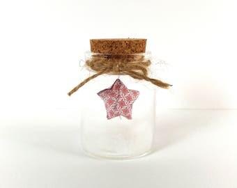 Origami Starlet in Jar