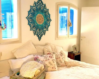Bon Wood Wall Art, Moroccan Decor, Moroccan Wall Art, Living Room Wall Art,