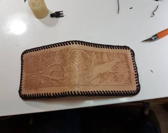 Classic Pine Forest Billfold Wallet