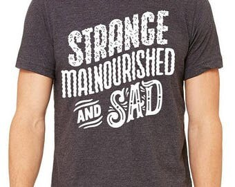 Strange, Malnourished and Sad. Radio Head fans as described by Fox News shirt