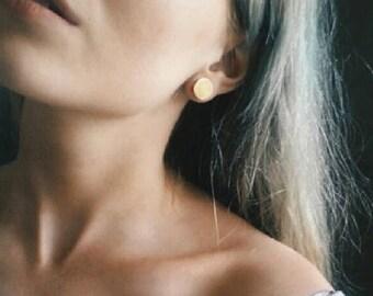 Brass ear plug, brass gauge jewellery, Eyelets, Ear stretcher, Brass ear plugs, Gauge brass jewellery, Gauge earrings, Tribal  ear plugs