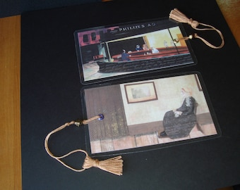 Iconic art bookmarks