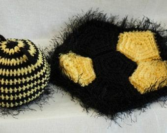 Crochet Bumble Bee Baby Prop