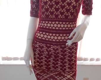 Hollyberry Lace Dress