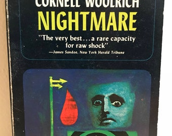 Cornell Woolrich Nightmare William Irish Pulp Noir 1964 Dell First