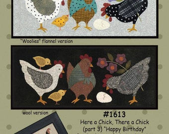 Pattern: Here a Chick, There a Chick (part 3) Happy Birthday by All Through the Night