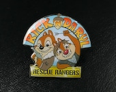 Rick & Daryl / Chip and Dale Enamel Pin
