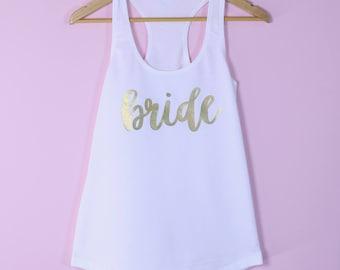 Wedding Tank Top. Bride Tank Top. Bride Shirt. Bride Tank. Wedding Shirt. Bride Gift. Bridal Shower Gift. Bridal Party Shirts. Bride Gift.