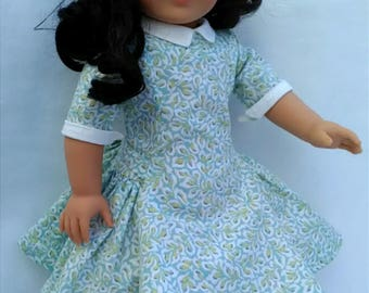 American Girl Doll 1950's 'Afternoon Stroll' Dress for MaryEllen