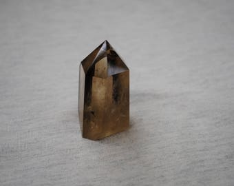 Polished Smoky Quartz Crystal, Healing Stone