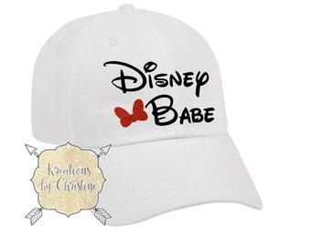 Disney Babe Hat, Baseball Hat, Dad Hat, Dad Cap, Disney Hat