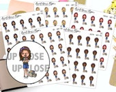 Happy Mail Planner Stickers - Shopping Planner Stickers - Package Stickers - Character Planner Stickers - 1287 - 1288 - 1289 - 1290 - 1291