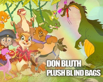 Don Bluth Movies Plush Blind Bags