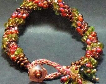 Elegant Wine-Themed Bracelet