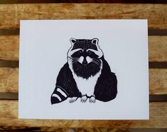 Trash Panda [Raccoon]- Science and Art