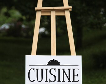 Cuisine - vinyl on decal paper so you can decorate whatever you like – Home décor