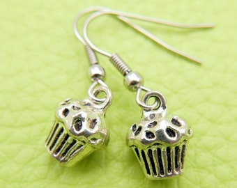 Muffin Earrings stainless steel