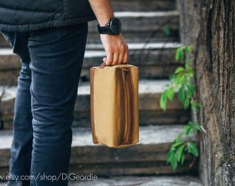 toiletry bag leather dopp kit bag personalized dopp kit for men waxed canvas dopp bag leather mens shaving bag groomsmen toiletry bag Khaki