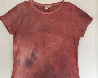 Naturally Dyed Cotton T-shirt