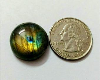 20.10mm,Round Shape Labradorite Cobochon/Multi Flash/wire wrap stone/Super Shiny/Pendant Cabochon/Semi Precious Gemstone/labradorite cabs