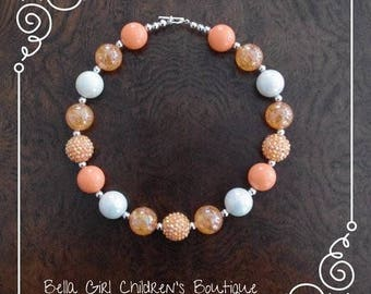 Bubblegum Necklace, Cake Smash Necklace, Photo Shoot Necklace, Chunky Necklace, Children's Necklace, Necklace, Bead Necklace, Accessories