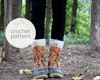 Crochet Pattern / Boot Warmers, Leg Warmers, Boot Cuffs / THE TUNDRAS