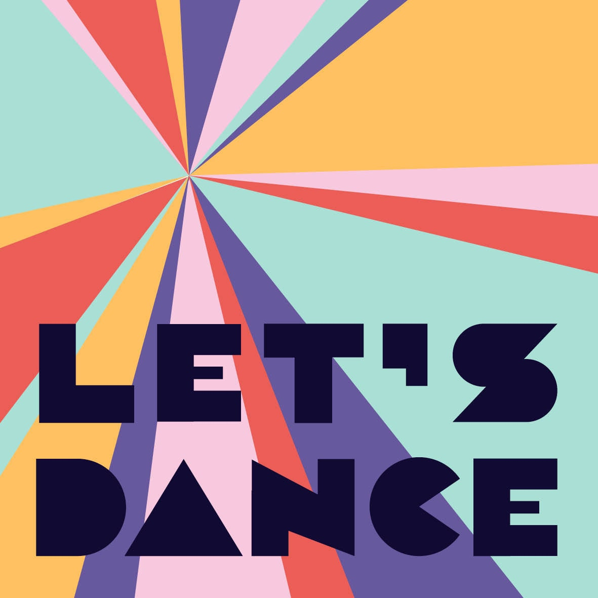 #365daysoftype hand lettering Lets Dance