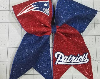 9 Patriots Cheer Bows