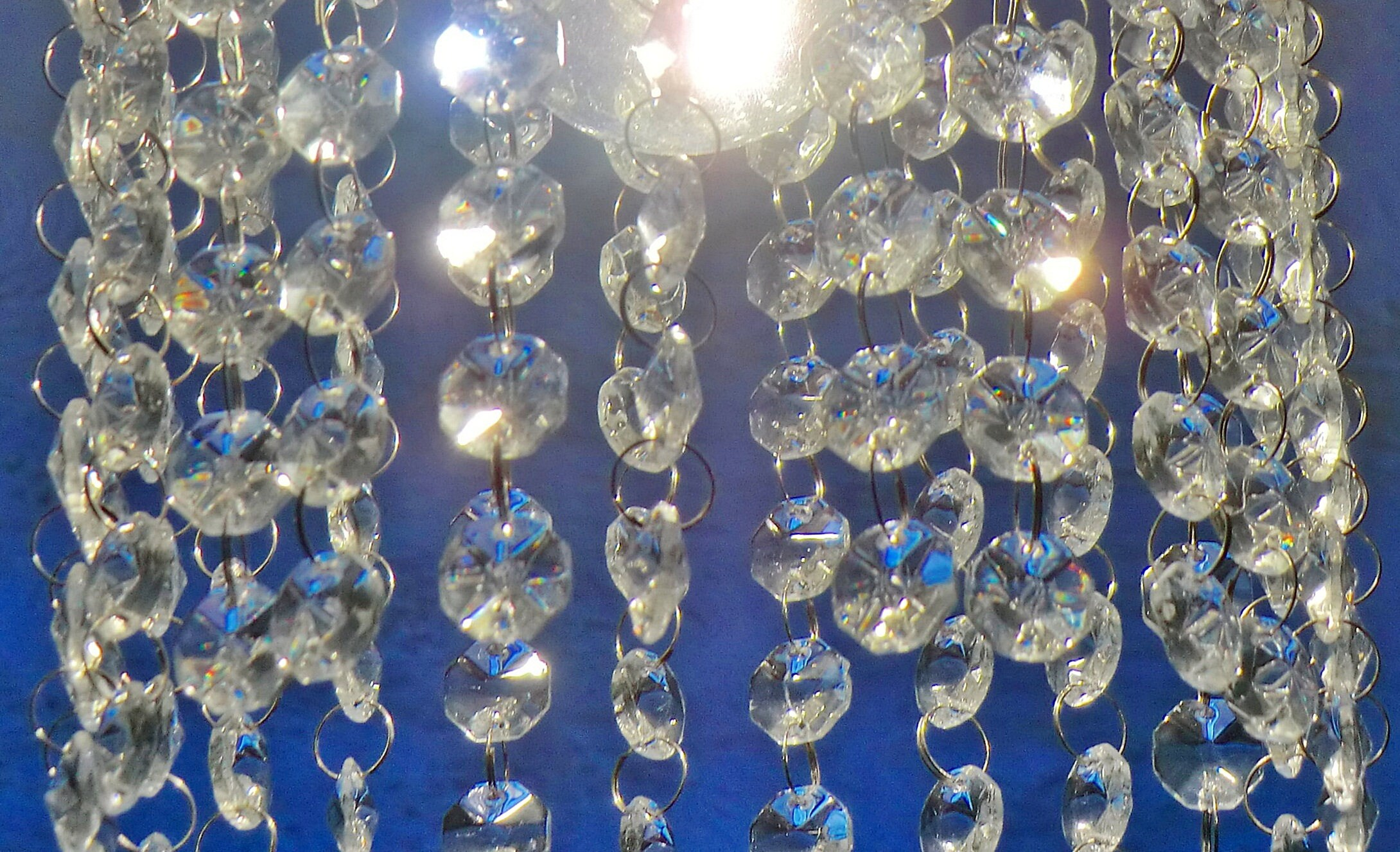 16mm Clear Chandelier Drops Lamp Light Lamp Replacement Parts