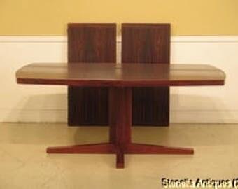 F43327EC  DYRLUND Danish Mid Century Modern Rosewood Dining TableDyrlund   Etsy. Rosewood Danish Dining Table And Chairs. Home Design Ideas