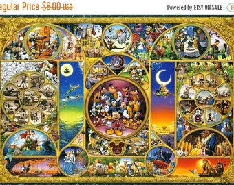 "disney best themes counted Cross Stitch disney best themes pattern needlepoint, needlecraft - 35.43"" x 24.29"" - L793"