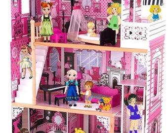 "The dolls house Counted Cross Stitch Pattern Kräiz Stitch jahitan silang דפוס תפר צלב korsstygn - 17.71"" x 24.93"" - L820"