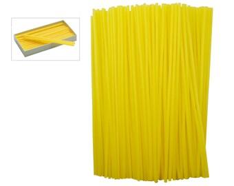 8 oz Box of Yellow Sprue Wax 10 Gauge 2.60 mm Jewelry Pattern Making Investment Wax - WAX-312.10