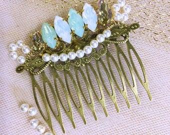 Hair comb wedding hair comb /wedding Swarovski crystals