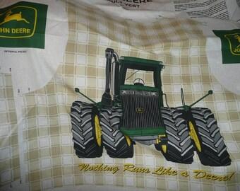 John Deere Adult Size Vest Sewing Panel