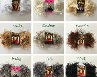 Lion Brand Fun Fur Yarn