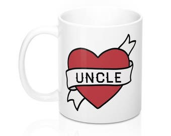 Uncle Mug, Best Uncle Gift, Uncle Gift from niece, Uncle Gift from nephew, Uncle birthday Gift Mug, Uncle gift for Christmas
