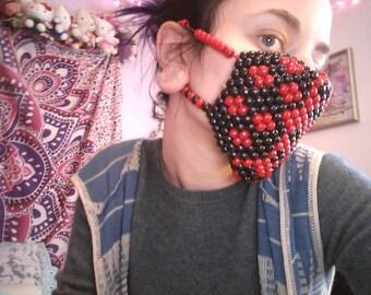 Harley quinn kandi mask